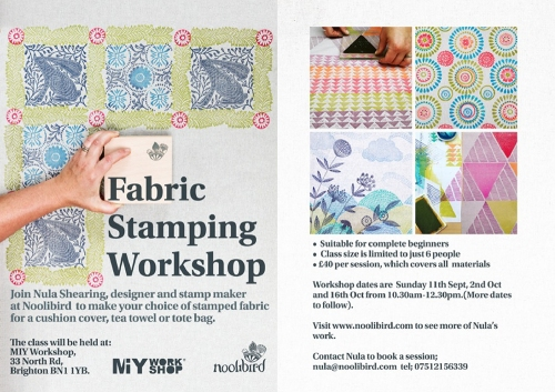 fabric stamping class