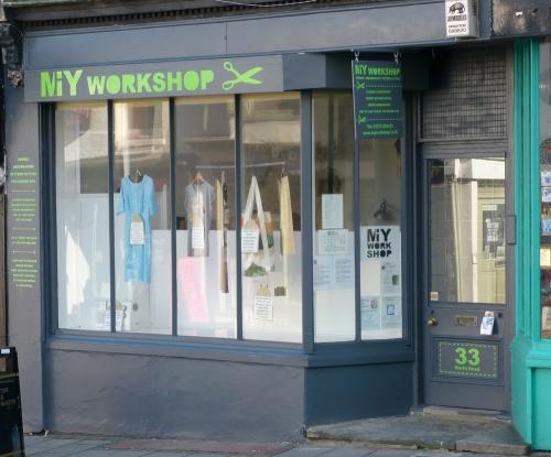 MIY Workshop shop front