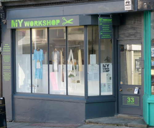 MIY Workshop shop front