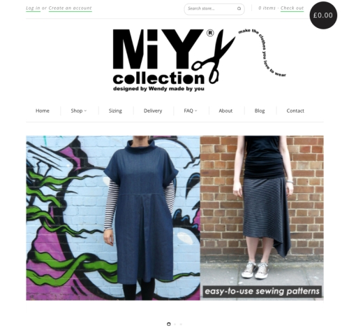 MIY Collection by Wendy Ward Sewing Patterns & Sewing Tools