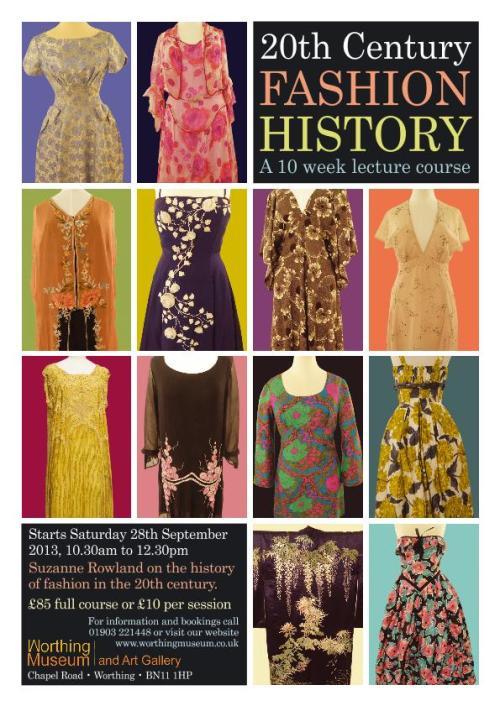 Fashion History poster A4-1