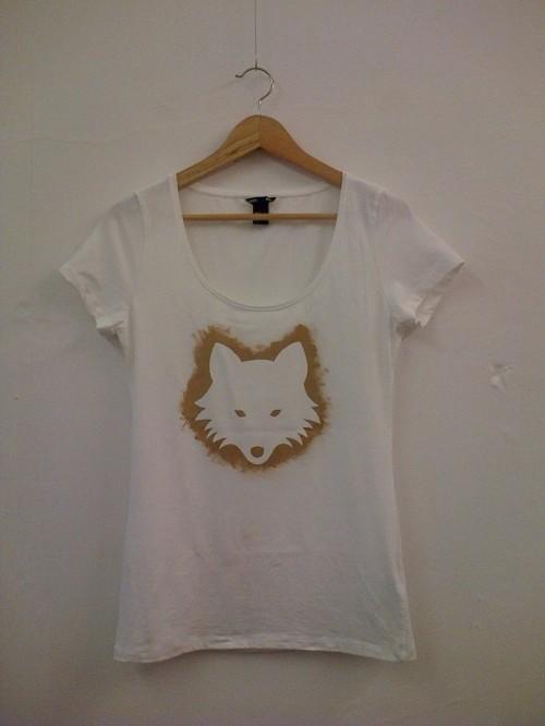 stencil print t-shirt customising