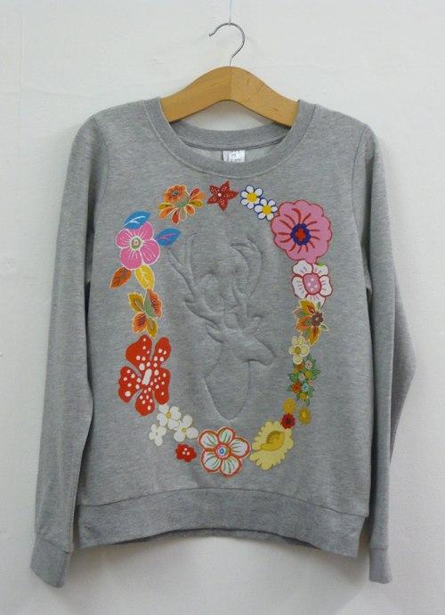 sweatshirt customising sewing world
