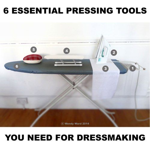 pressing tools for dressmaking