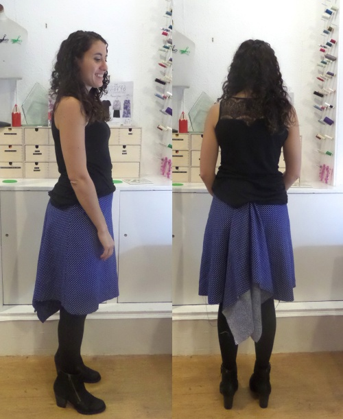 beginners guide to dressmaking - fishtail skirt