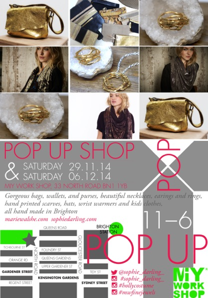 POP-up shop at MIY Workshop