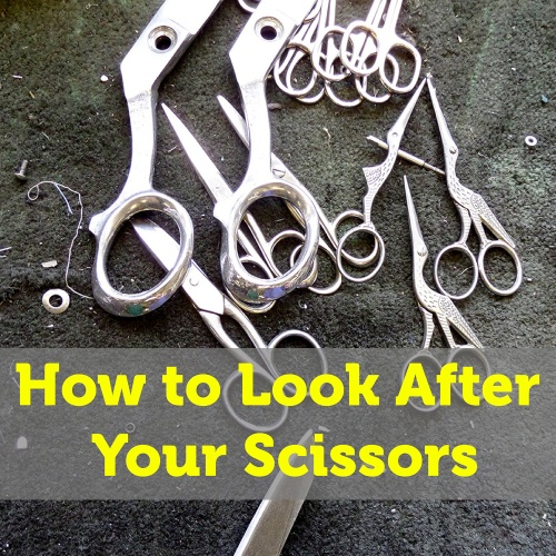 how to look after your scissors