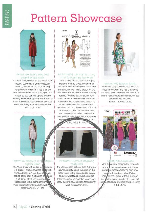 easy sewing patterns | MIY Workshop