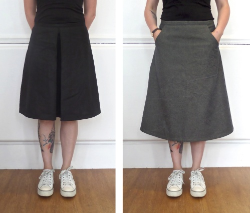 make an aline skirt