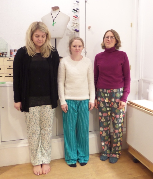 pyjama making class