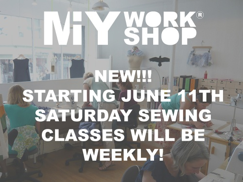 saturday sewing class brighton