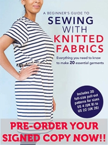 beginners guide to sewing with knits